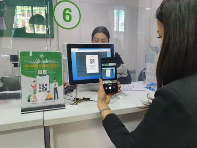 QR payments will help reduce the waiting time of clients in public service centers