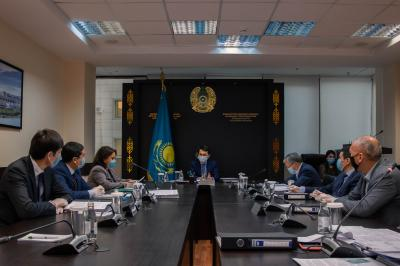 "The meeting of the Board of Directors was held at the ""Government for Citizens"""